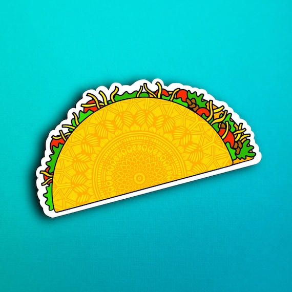 Taco Sticker (WATERPROOF)