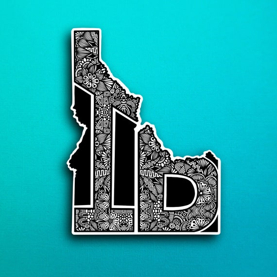 State Idaho Sticker (WATERPROOF)