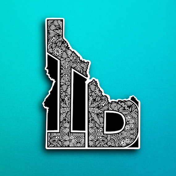 Idaho Sticker (WATERPROOF)