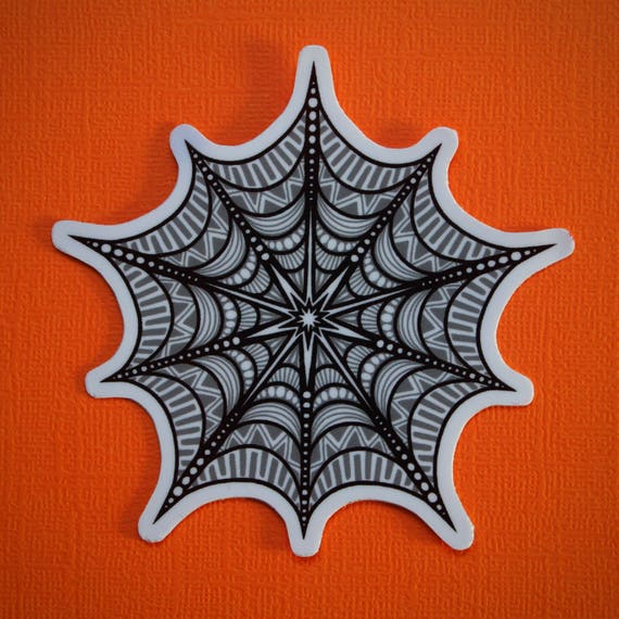Spider Web Sticker (WATERPROOF)
