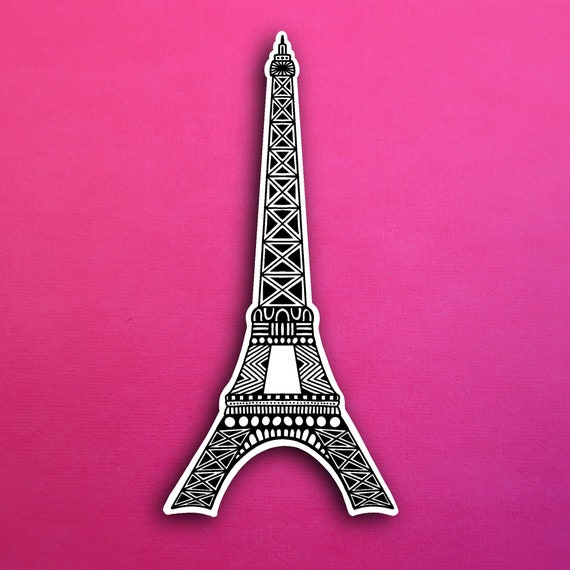 Eiffel Tower Sticker (WATERPROOF)