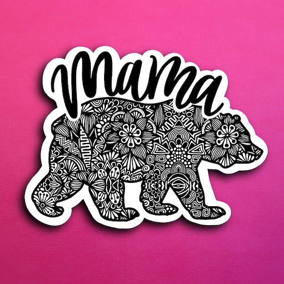 Mama Bear Sticker (WATERPROOF)