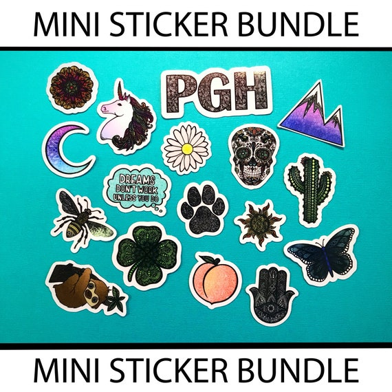 Mini Sticker Bundle