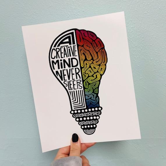 Creative Mind Print