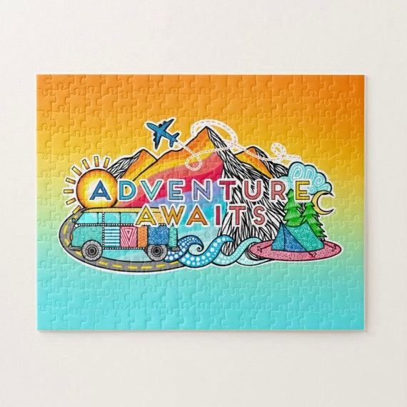 PRE-ORDER Adventure Awaits Puzzle