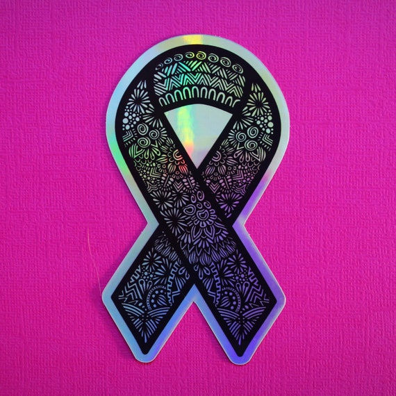 Holo Ribbon Sticker (WATERPROOF)