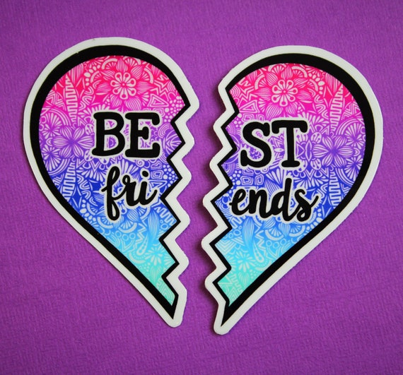 Best Friends Sticker (WATERPROOF)