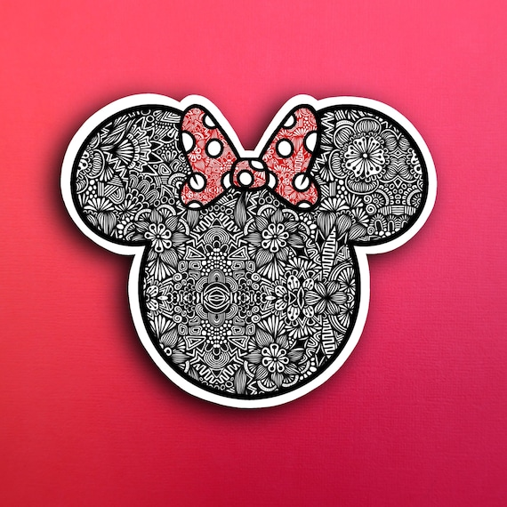 Minnie Sticker (WATERPROOF)