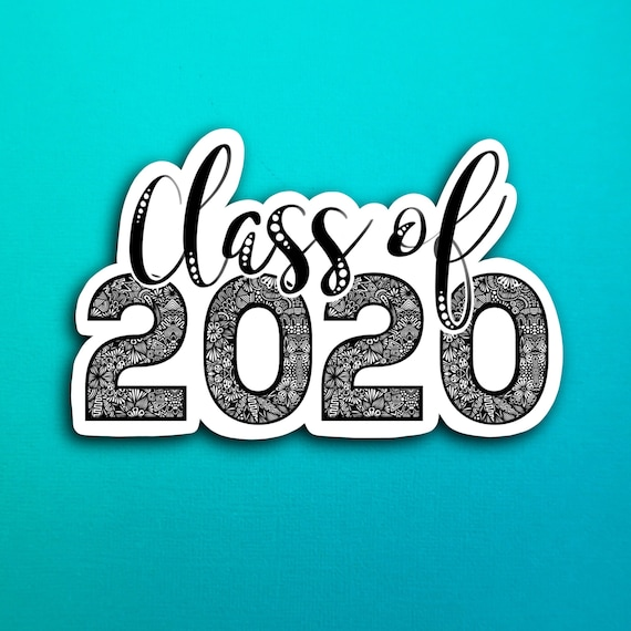 Class of 2020 Sticker (WATERPROOF)