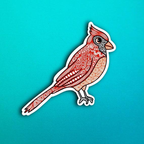 Cardinal Sticker (WATERPROOF)