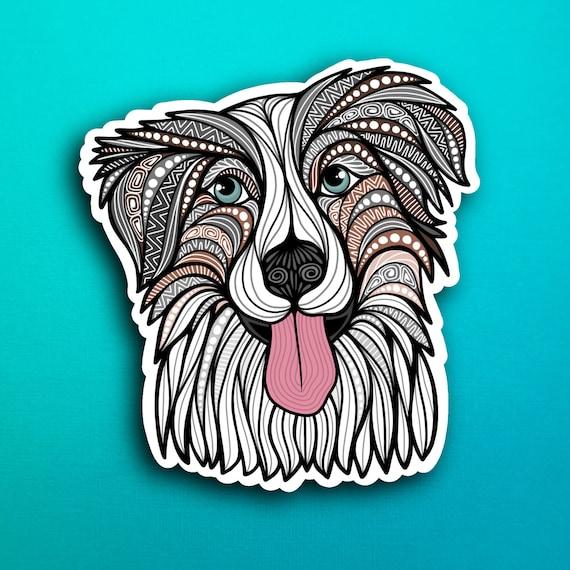 Australian Shepherd Sticker (WATERPROOF)