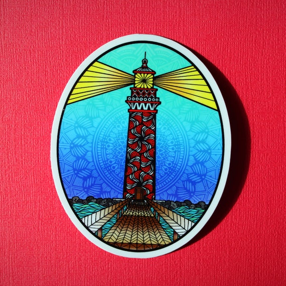 Lighthouse Sticker (WATERPROOF)