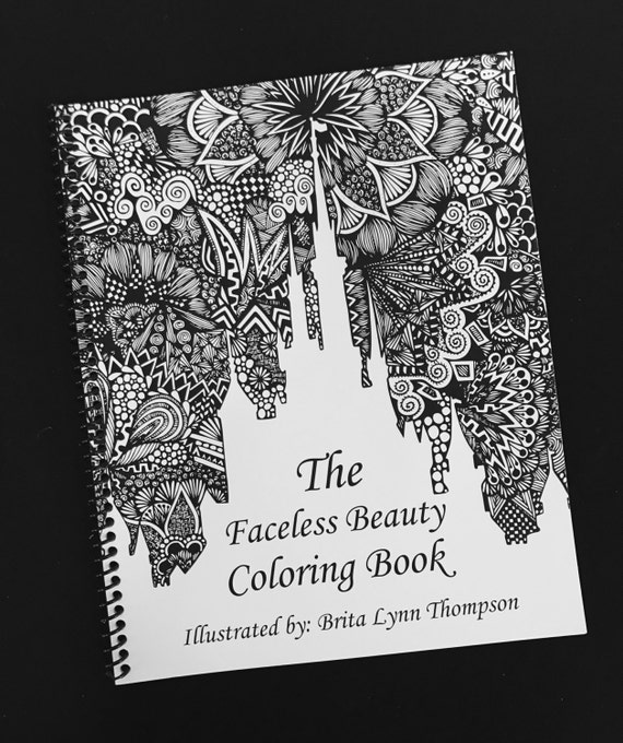 Faceless Beauty Coloring Book