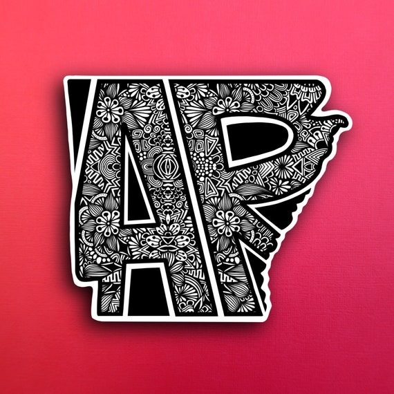 Arkansas Sticker (PRE-ORDER) (WATERPROOF)