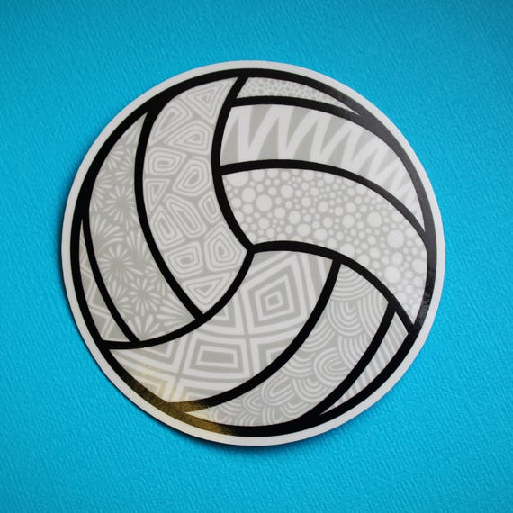 Volleyball Sticker (WATERPROOF)
