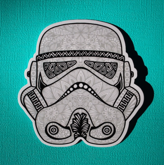 Stormtrooper Sticker (WATERPROOF)