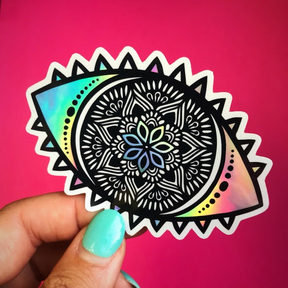 Holo Eye Sticker (WATERPROOF)