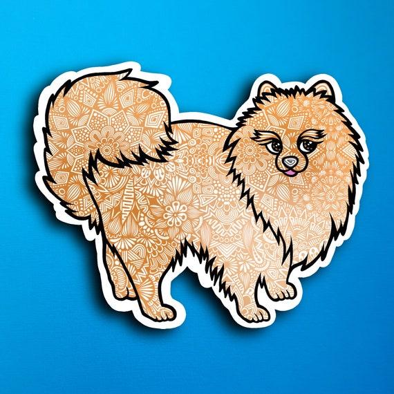 Pomeranian Sticker (WATERPROOF)