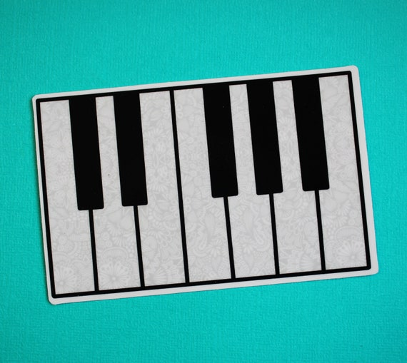 Piano Sticker (WATERPROOF)