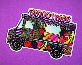 Smoothie Truck Sticker