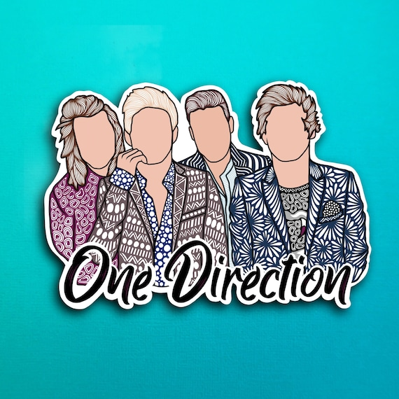 One Direction Sticker (WATERPROOF)