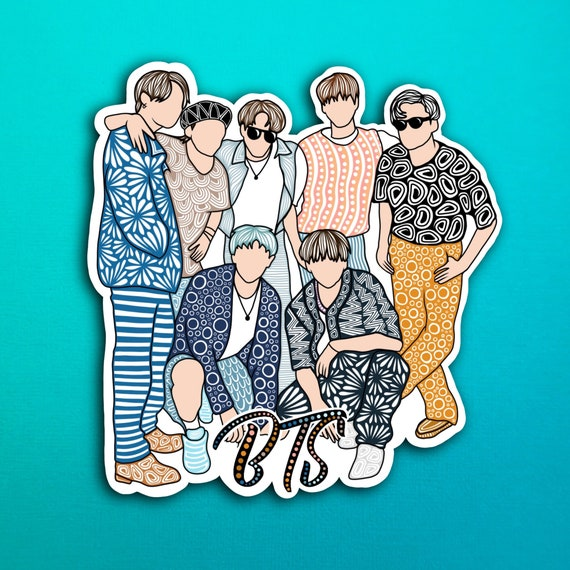 BTS Sticker (WATERPROOF)