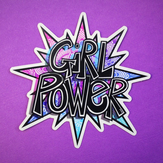 Girl Power Sticker (WATERPROOF)