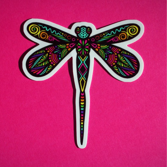 Dragonfly Sticker (WATERPROOF)