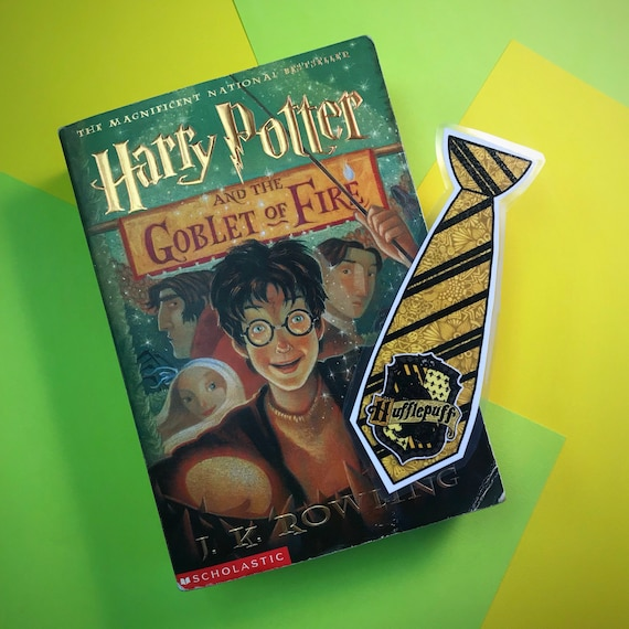 Laminated Hufflepuff Bookmark