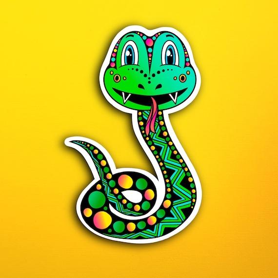 Skyla the Snake Sticker (WATERPROOF)