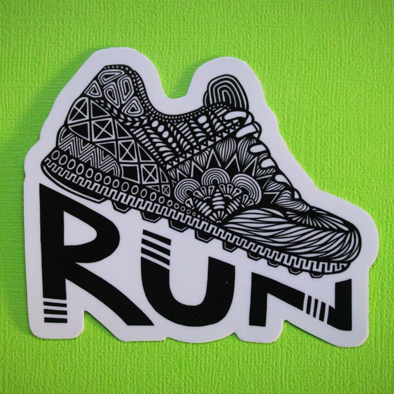 Run Sticker (WATERPROOF)