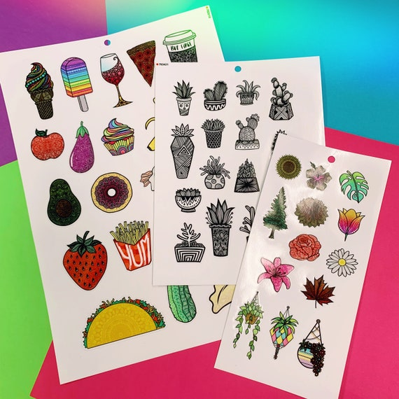 Custom Mini Sticker Sheets!