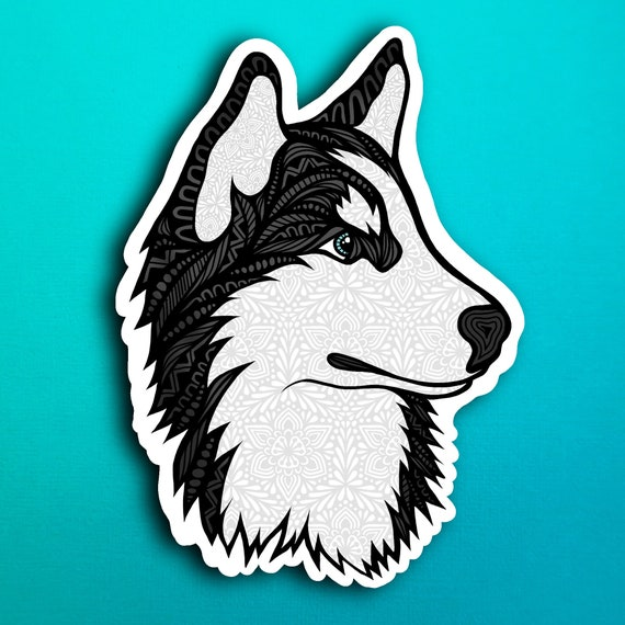 Husky Sticker (WATERPROOF)