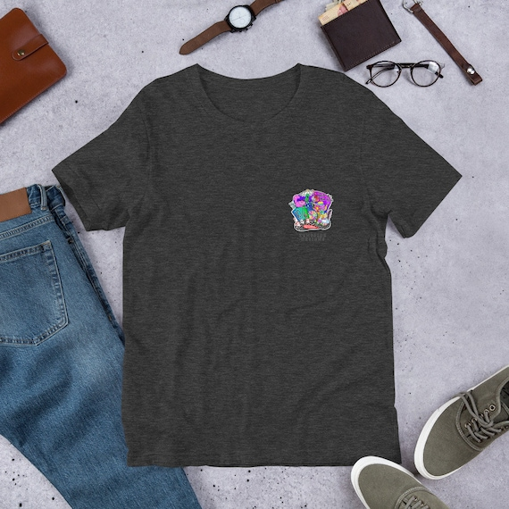Mad Hatter Pocket Design Unisex T-Shirt