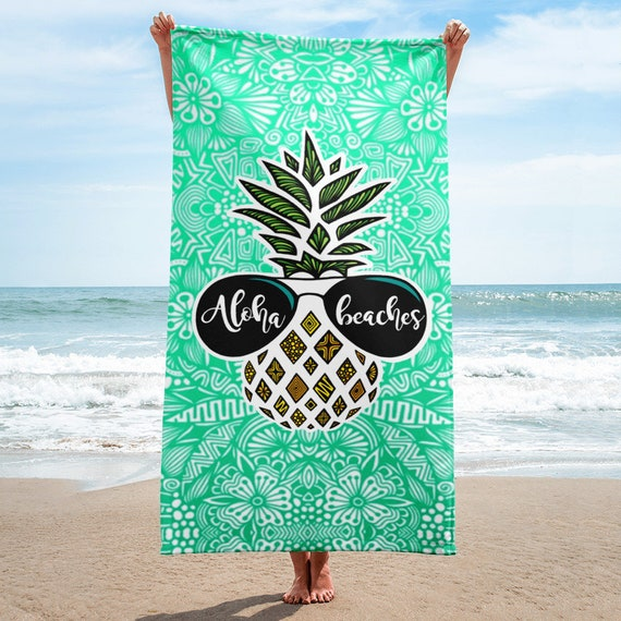 Aloha Beaches Towel