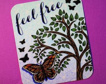 Feel Free Sticker