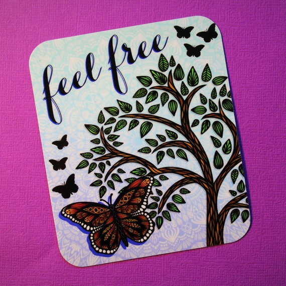 Feel Free Sticker (WATERPROOF)
