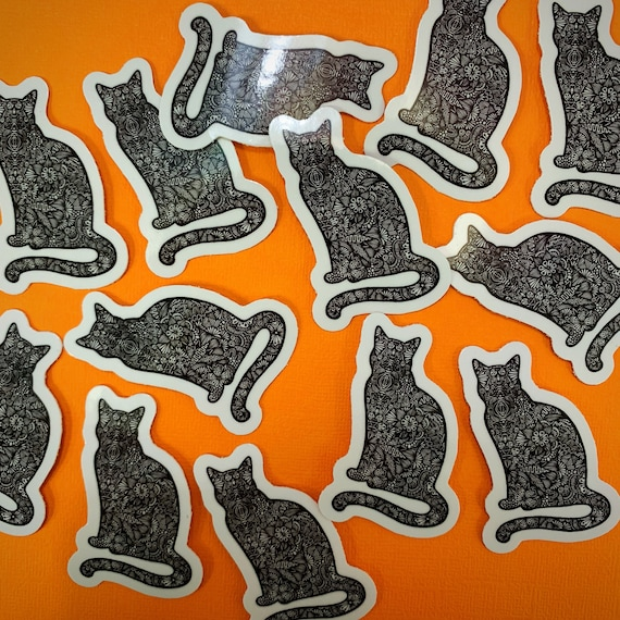 Mini Cat Sticker