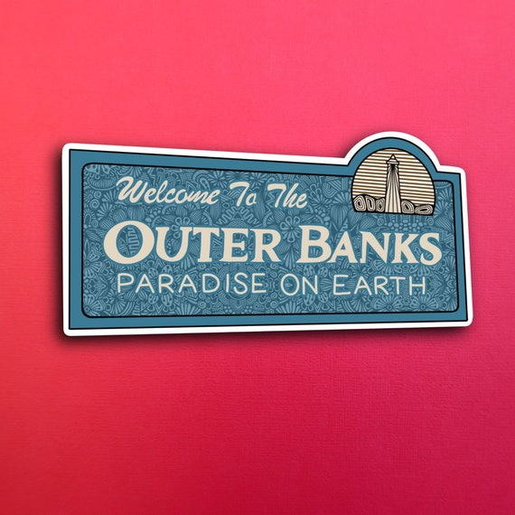 Outer Banks Sticker (WATERPROOF)