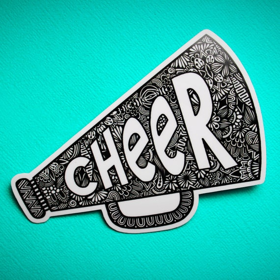 Cheer Sticker (WATERPROOF)