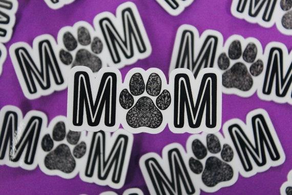 Mini Dog Mom Sticker (WATERPROOF)