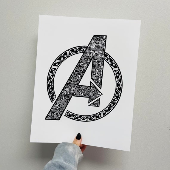 Advengers Print
