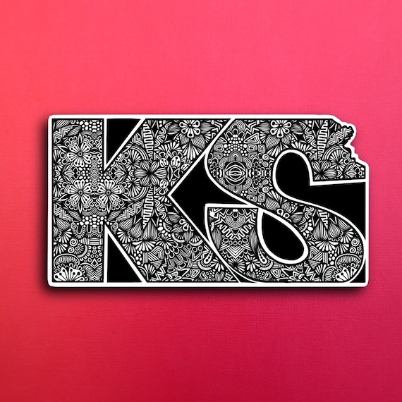 Kansas Sticker (PRE-ORDER) (WATERPROOF)
