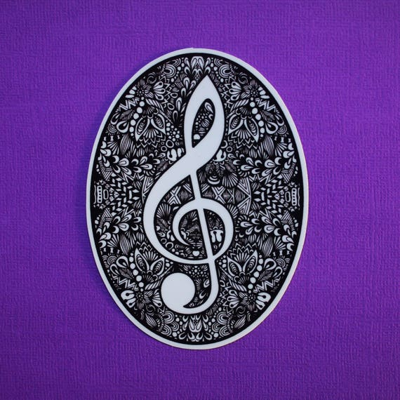 Music Note Sticker (WATERPROOF)