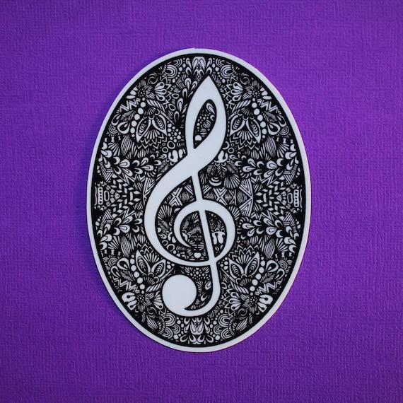 Music Note Sticker (WATERPROOF)