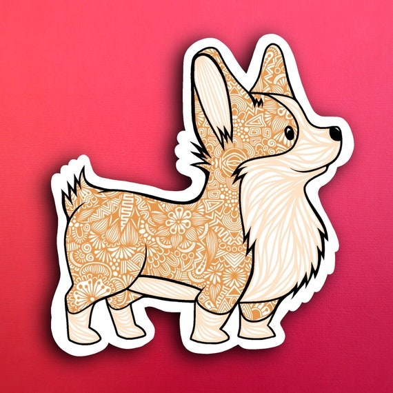 Corgi Sticker (WATERPROOF)
