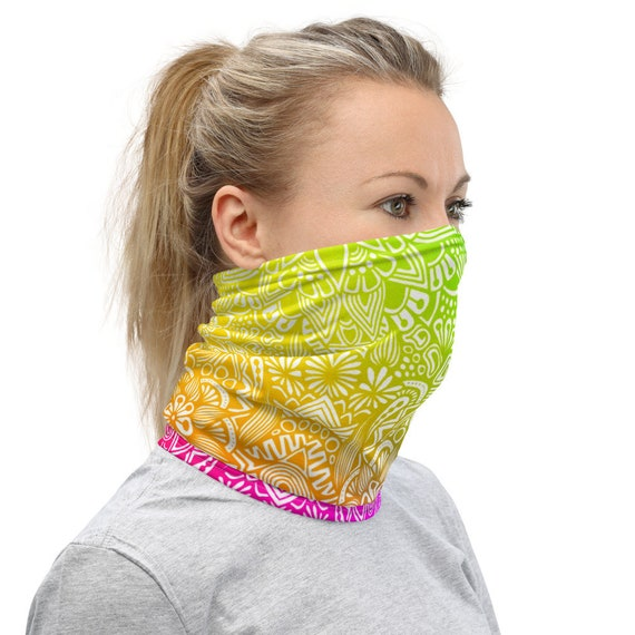 Rainbow Neck Gaiter