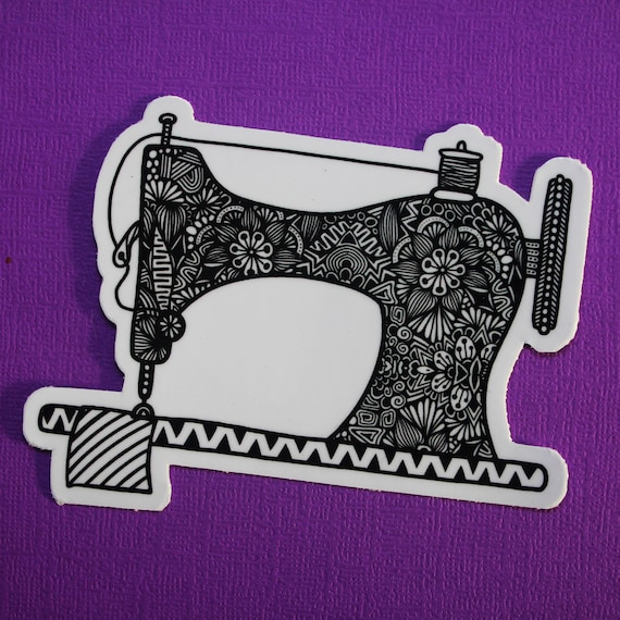 Sewing Machine Sticker (WATERPROOF)