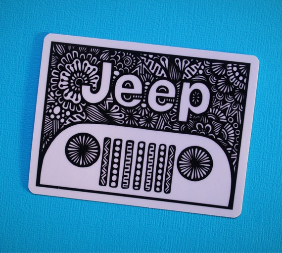 Beep Beep Sticker (WATERPROOF)