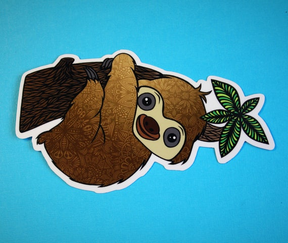 Sloth Sticker (WATERPROOF)